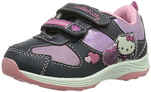 Hello Kitty Girls Kids Athletic Sport, Sneakers basses fille - Multicolore - Mehrfarbig (252 LNV/LIC/LNV), 30 EU (12 Kids UK) EU