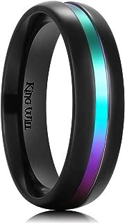 Mens Titanium Wedding Ring for Men and Women Engagement Ring