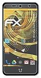 atFolix Panzerfolie kompatibel mit WileyFox Swift 2X Schutzfolie, entspiegelnde & stoßdämpfende FX Folie (3X)