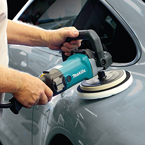 Makita 9237CX3 Makita 7' Polisher, 10 AMP, 600-3,000 RPM, var. spd., loop handle with foam pad and bag, ,