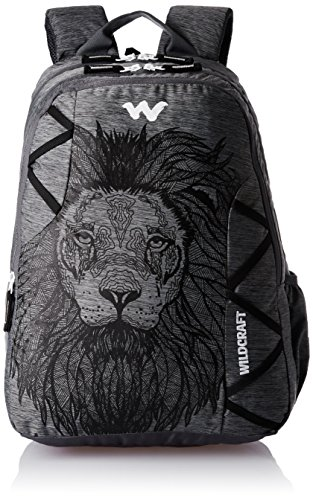 Wildcraft 35 Ltrs Black and Mel Backpack
