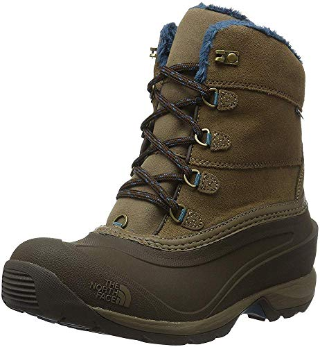 The North Face T0CM69, Botas de Senderismo Mujer, Marrón/Verde, 39