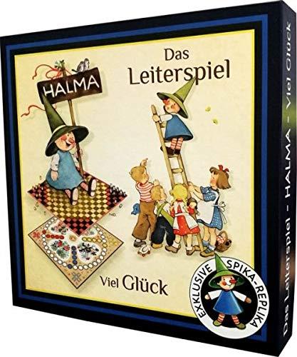 Spika 190087 GmbH Halma, Viel Glück, Leiterspiel, Bunt