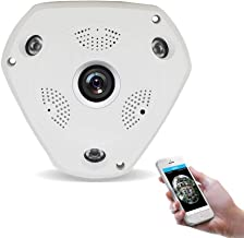 Zenly HD 960P WiFi Wireless IP Camera H.264 Smart 360 Degree Panoramic VR CCTV Security Camera Home Surveillance Hot