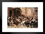 Poster Foundry William Holbrook 1879 Ölgemälde, Motiv