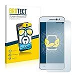 BROTECT Schutzfolie kompatibel mit Jiayu G2F (2 Stück) klare Bildschirmschutz-Folie