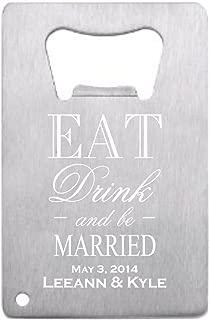 bottle opener wedding favor