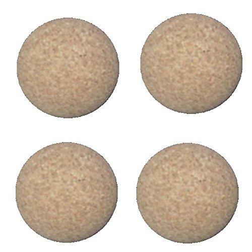 New Gamesson Cork 36mm Balls Extra Quiet Football Table Fussballs Confezione da 4