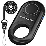 [Upgraded] Bluetooth Remote Shutter for iPhone & Android Camera Wireless Remote Control Selfie Button for iPad iPod Tablet, HD Selfie Clicker for Photos & Videos (Black)