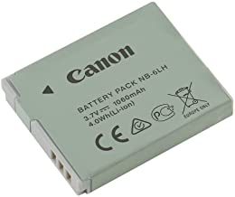 NB-6L NB-6LH Li-ion Battery for Canon PowerShot D10 D20 S90 S95 S120 SD770 is SD980 is SD1200 is SD1300 is SD3500 is SD4000 is Camera
