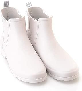 HUNTER Women's Refined Slim Fit Chelsea Boots, Clatter Grey