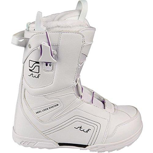 Damen Snowboard Boots stuf - Diva white Mondo 25,5 (39,5)