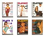 Playboy Magazines, January/Febuary/March/April/May/ June 1990