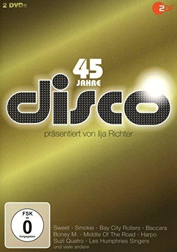 45 Jahre Disco: Nr. 1 Hits der 70er Jahre (2 DVDs)