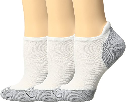 Smartwool PhD Run Elite Micro 3-Pair Pack White/Light Gray MD (Women's Shoe 7-9.5)