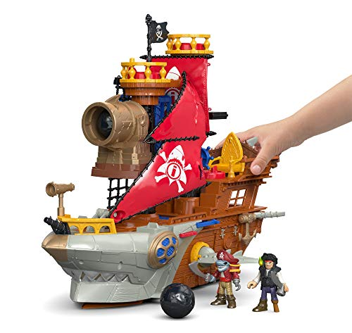 Fisher-Price Imaginext Shark Bite Pirate...