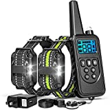 FunniPets Dog Training Collar, 2600ft Range Dog Shock Collar with Remote Waterproof Electronic Dog...