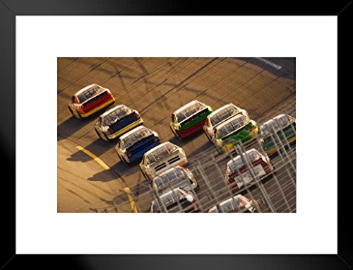 Carl Edwards NASCAR Auto Racing Double Matted 8x10 Photograph Signature Series Collage