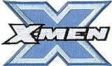 X-MEN Application Aplicación Blue Logo PATCH,PARCHE Officially Oficialmente Licensed Autorizado Marvel Comics Superhero Artwork ilustraciones Iron-On / Sew-On, Embroidered bordado PATCH PARCHE