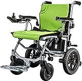 De peso ligero plegable sillas de ruedas eléctrica Silla de ruedas eléctrica, ligero plegable, batería de litio, de edad...