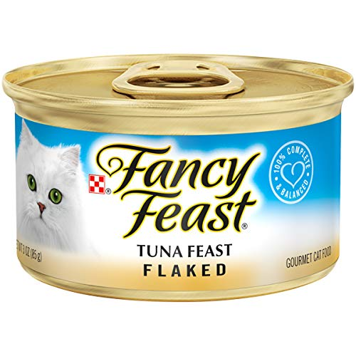 Purina Fancy Feast Wet Cat Food, Flaked Tuna Feast | Chewy