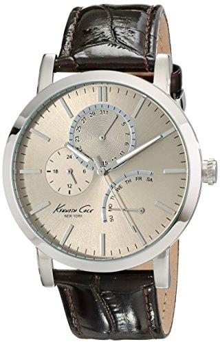 Kenneth Cole Reloj analogico para Hombre de Cuarzo con Correa en Piel IKC1945