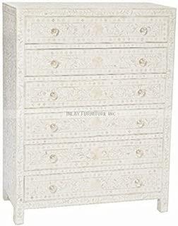 bone chest of drawers