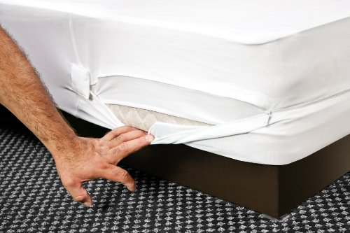 """HOSPITOLOGY PRODUCTS Sleep Defense System - Zippered Mattress Encasement - Full/Double - Hypoallergenic - Waterproof - Bed Bug & Dust Mite Proof - Stretchable - Standard 12"""" Depth - 54"""