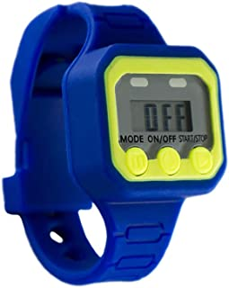 Potty Fun Potty Training Watch Countdown Timer to Remind Your Toddler to Go Potty with a Fun Audio/Music Theme - Fits Wrists of 5 to 6.25 inches - Potty Spy Mission Theme