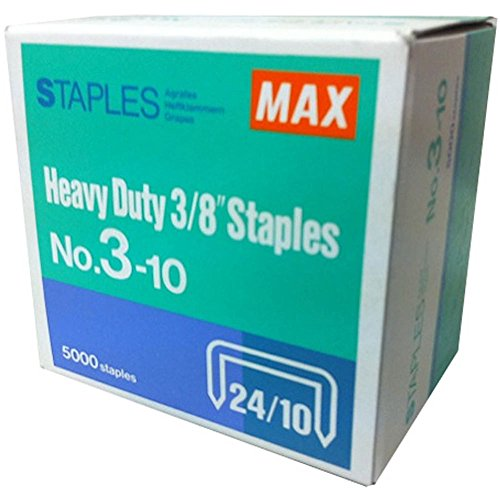 Max Heavy Duty Stapler HD-3D for Book Binding- with Free Staples (2-75 Sheets) Photo #5