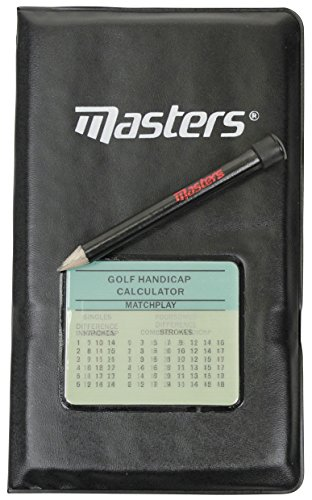 Masters Fitness Deluxe ZDGA0042-Tarjetero, diseño de Golf, Unisex, No especificado, F/S