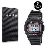Youniker 5 protectores de pantalla para Casio GW-M5610 G-sho