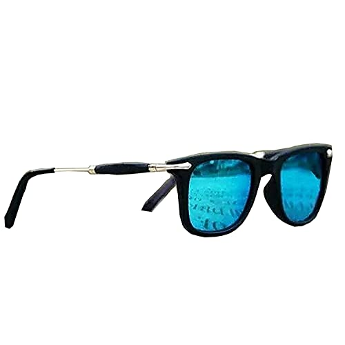 730a9f3ba46 REX Sunglasses (Gift item) Men s   women s Premium Quality Blue Mercury  Wayfarer Square UV400