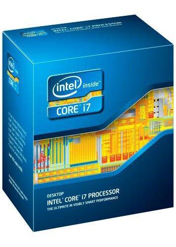 Intel Core i7-3770S Quad-Core Prozessor (3,1 GHz, 8 MB Cache, LGA 1155, BX80637I73770S)