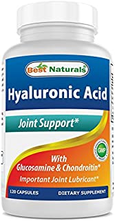 Best Naturals Hyaluronic Acid 100 mg 120 Capsules - Support Healthy Joints and Youthful Skin