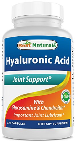 Best Naturals Hyaluronic Acid 100 mg 120 Capsules - Support Healthy Joints and Youthful Skin (859375002702)