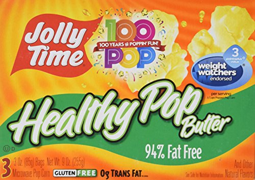 Best Prices! Jolly Time Healthy Pop Microwave Popcorn, 3 ct, 2 pk