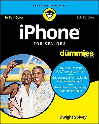 Image OfIPhone For Seniors For Dummies (English Edition)