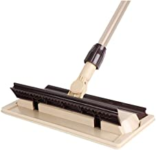 RYDQH Microfiber Hardwood Floor Mop with Extension Handle 、Reusable Flat Mop Pads for Wet or Dry Floor Cleaning