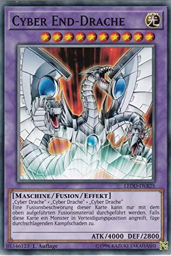 Konami - LEDD-DEB25 - Cyber End-Drache - Common - DE - Yugioh