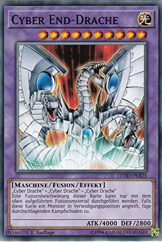 LEDD-DEB25 - Cyber End-Drache - Common - Yu-Gi-Oh - Deutsch 1. Auflage