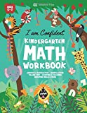 Kindergarten Math Workbook: MADE IN USA | I Am Confident - Number Tracing, Comparison, Counting Money, Time, Addition and Subtraction Activities ... Age 5-7 (Homeschooling Activity Books)