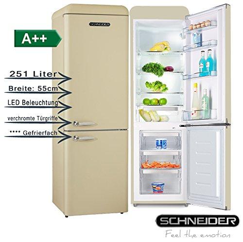 Schneider SL 250 SC Kühlschrank/A++ /Kühlteil177 liters /Gefrierteil74 liters