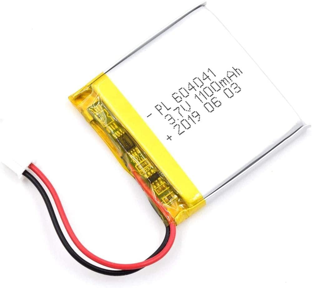 CSYJ 3.7V 1100mAh 604041 Lipo Battery Rechargeable Polym Max 56% OFF Now free shipping Lithium