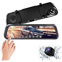 Alween 10 inch Mirror Touch Full HD Dash Cam