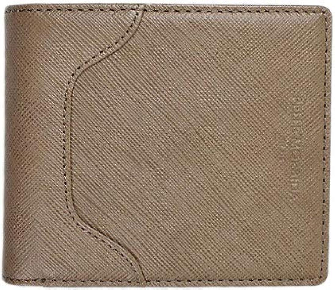 独特の帽子研磨PELLE MORBIDA ペッレモルビダ 2つ折り財布 BA104 (トープ)