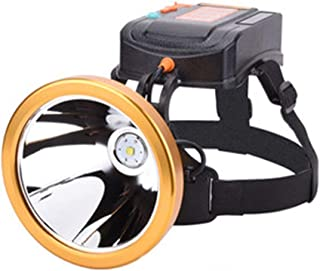 Outdoor Sports 20000W Glare Charging Super Bright Head-Mounted Waterproof Fishing Led Hunting Xenon Lamp Miner's Lamp
