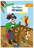 Malbuch ab 3 Jahren - Piraten