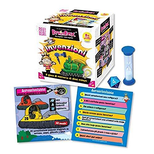 Brain Box- Gioco di società, Multicolore, 93915