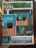 Funko - Figurine Minecraft - Alex In Diamond Armor Exclu Pop 10cm - 0889698264013...